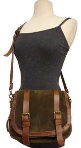 Massimo Dutti Leather Satchel in brown
