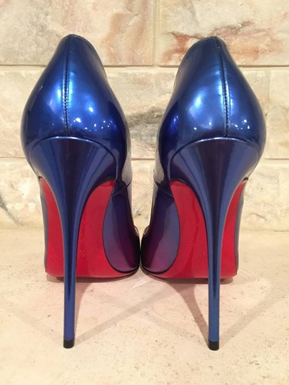 Christian Louboutin Kate Stiletto Patent Ombre Leather blue Pumps