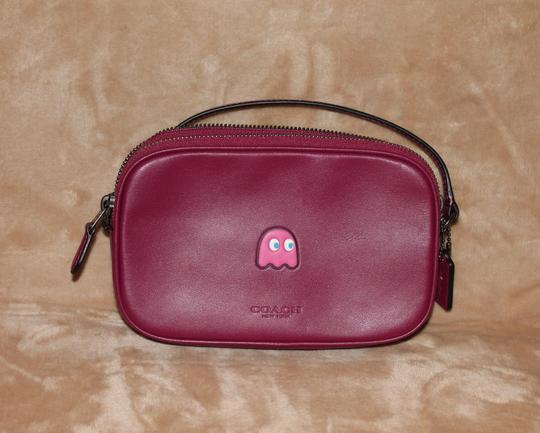 Coach Pac Man F55743 Pouch Leather Cross Body Bag