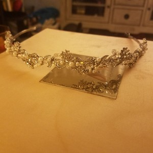 Pearl And Swarovski Crystal Tiara