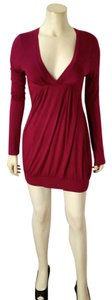Lush short dress fuscia P2274 on Tradesy