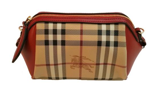 Burberry Clutch Cosmetic Case Cross Body Bag