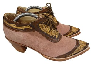 Old Gringo Leather Comfortable pink and brown Boots