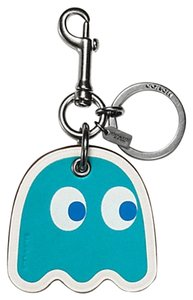 Coach Coach F56752 GHOST BAG CHARM Key Fob Limited Edition Turquoise