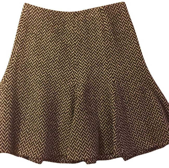 Preload https://item5.tradesy.com/images/emporio-armani-black-and-white-pattern-knee-length-skirt-size-10-m-31-20002844-0-1.jpg?width=400&height=650