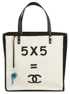 Chanel Demonstrate 5+5 Math Tote