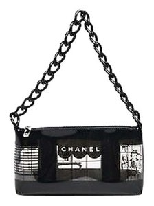 Chanel 03p Clear Vinyl Shoulder Bag