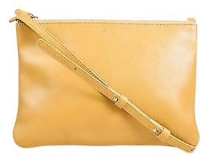 Céline Large Trio Lambskin Leather Zip Top Shoulder Bag