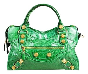 Balenciaga Giant 21 City Tote in Green