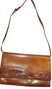 Other Italian Leather Snakeskin Shoulder Bag