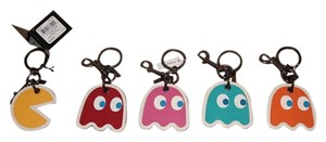 Coach 5 Pc Coach GHOST Bag Charm/Key Fob Collection Limited Edition