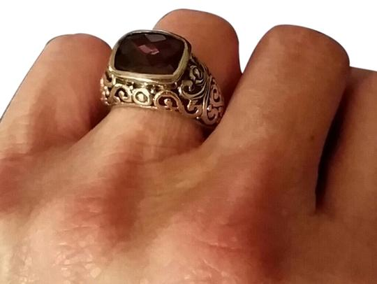 Unknown Sterling Silver Amethyst Ring. Size 7.