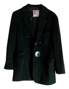 Moschino Vintage Winter Wool Oversized Coat