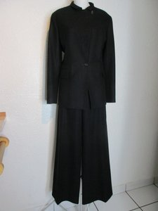 Céline Celine Black Wool and Cashmere Pant Suit
