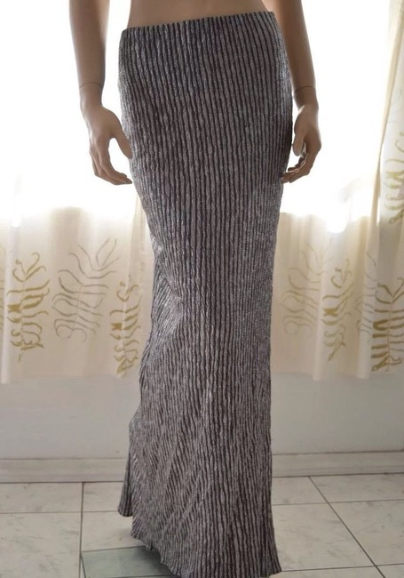 BCBGeneration Maxi Skirt SILVER