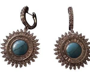 Antique from iran. Sterling silver. With turquoise. And z c Cristae.