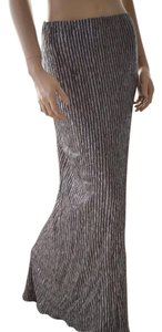 BCBGeneration Maxi Maxi Skirt SILVER