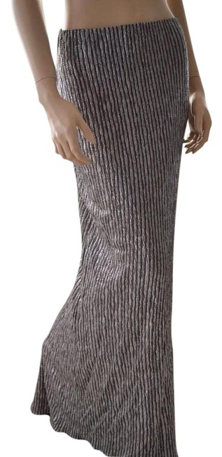 Preload https://img-static.tradesy.com/item/20003468/bcbgeneration-silver-new-bcbg-metallic-long-medium-maxi-skirt-size-8-m-29-30-0-1-650-650.jpg