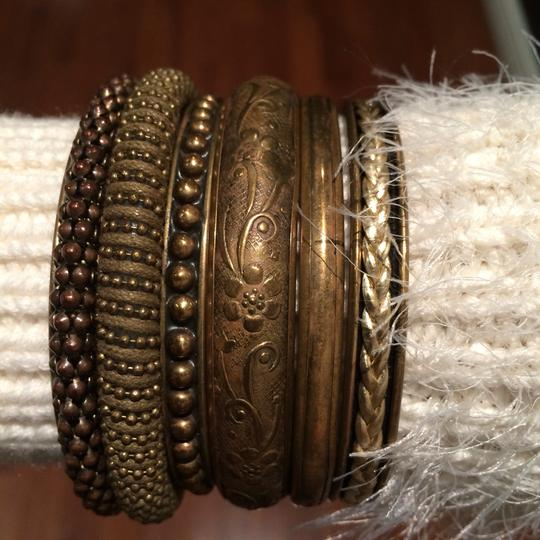Other Set Of Beautiful Handcrafted Gold Bracelets