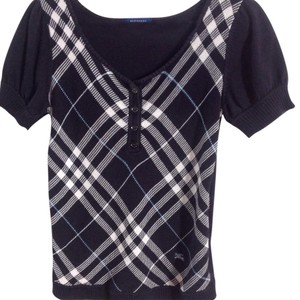 7b862b33f0ac46 Blue Burberry Blouses - Up to 70% off a Tradesy