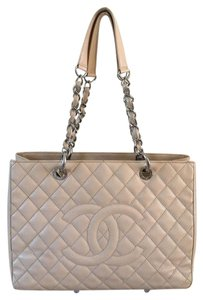 Chanel Gst Grand Shopping Tote Tote Caviar Shoulder Bag