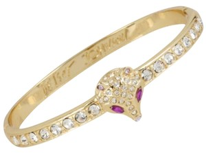 Betsey Johnson Fox Head Bangle
