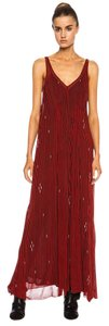 Red Maxi Dress by Isabel Marant Etoile Cassidy