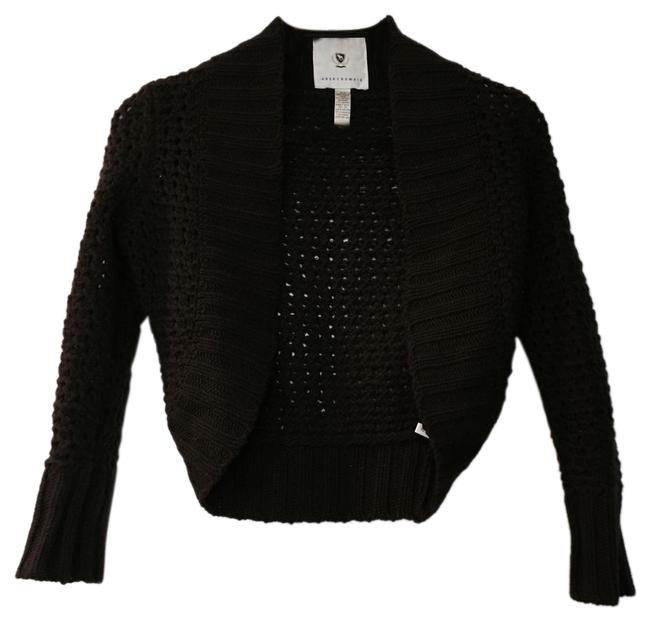 Preload https://img-static.tradesy.com/item/20003611/abercrombie-and-fitch-brown-open-knit-cropped-sweaterpullover-size-0-xs-0-4-650-650.jpg