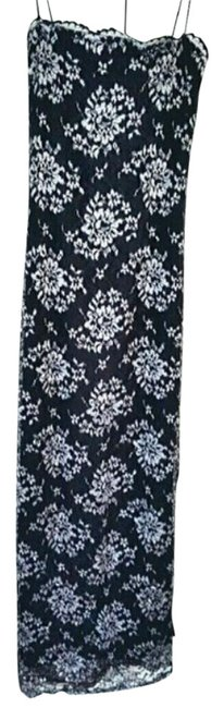 Preload https://item3.tradesy.com/images/vintage-90s-black-and-lavender-lace-long-formal-dress-size-0-xs-20003632-0-1.jpg?width=400&height=650