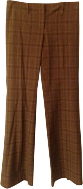 Express Trouser Pants gray plaid pattern