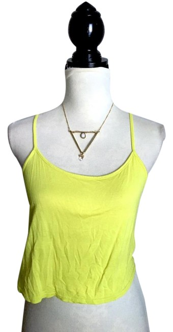 Item - Yellow Racer Back Butter Soft Tank Top/Cami Size 6 (S)