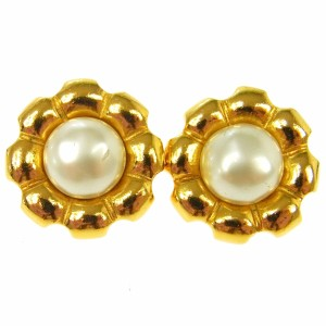 Chanel CC Vintage Earrings
