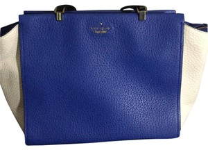 Kate Spade Satchel in Blue, White, Black