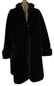 William Rosendorf Vintage Sheared Beaver Beaver Swing Fur Coat