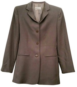 Emporio Armani Wool Lined taupe Blazer