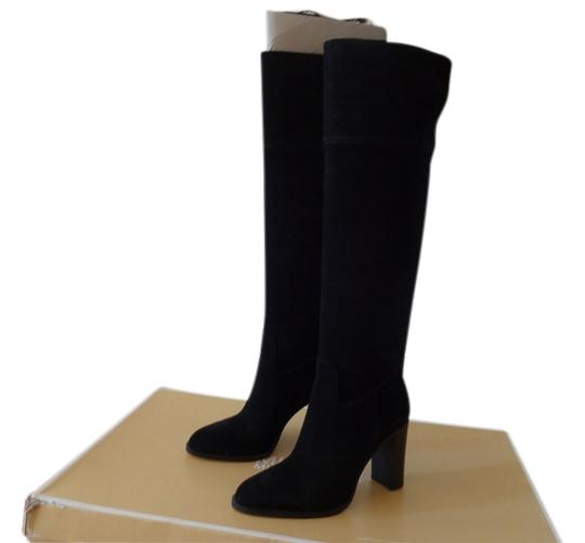 Preload https://item2.tradesy.com/images/michael-kors-suede-boot-chunky-black-boots-2000456-0-0.jpg?width=440&height=440