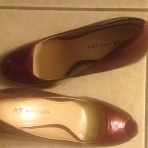 Anne Klein Red Platforms