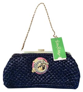 Lilly Pulitzer blue Clutch