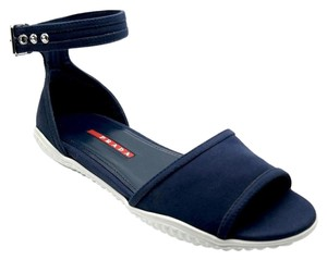 Prada Ankle Strap Baltico Sandals