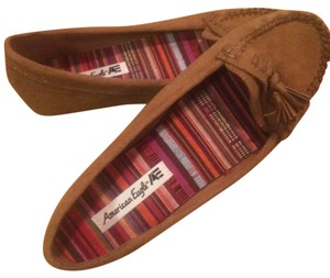 American Eagle Outfitters Tan Flats