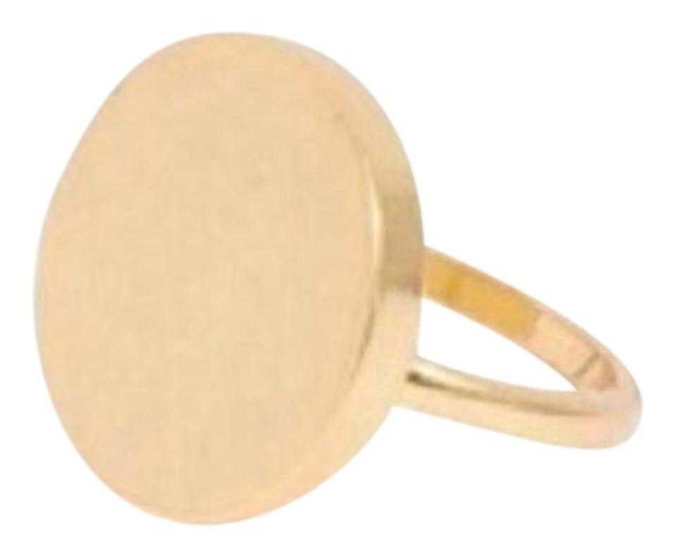 71fbb19901694 Vintage Gold Solid Circle Ring