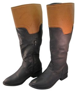Jacobies Black and Tan Boots