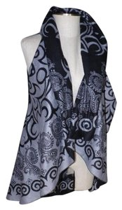 Cashmere Pashmina Group Scroll Damask Vest
