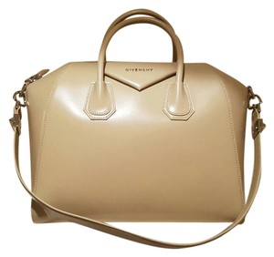 Givenchy Antigona Satchel in Beige