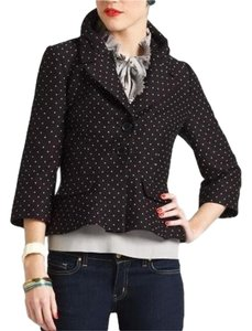 Kate Spade Belted Jacket Polka Dot Blazer