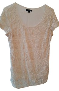 Old Navy Crochet Chic Fall Top Cream