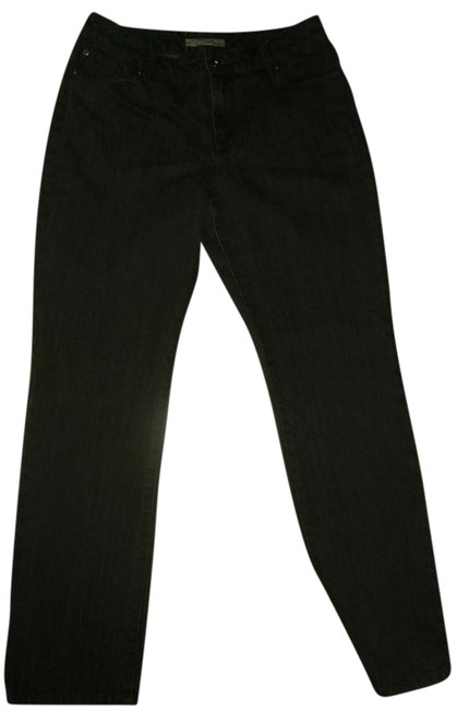 Item - Brown Dark Rinse Platinum Barely Boot Cut Jeans Size 32 (8, M)