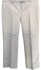 Theory Capri/Cropped Pants Light Gray