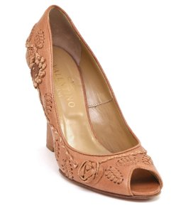 Valentino Tan Wedges