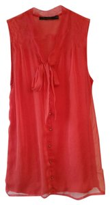 The Limited Holiday Top Red
